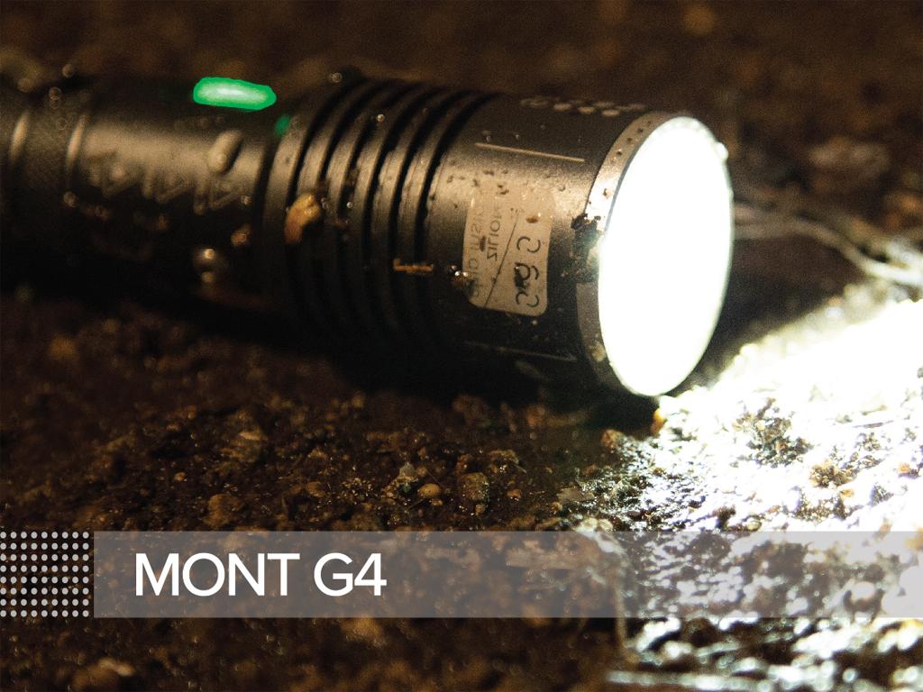 Νέος φακός Mont-G4 της εταιρίας SAS